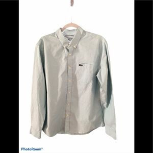 RVCA Light Blue Button-up Shirt
